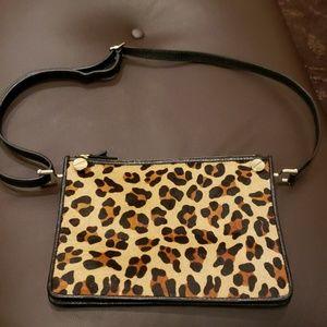 Leopard Calf CrossBody Purse